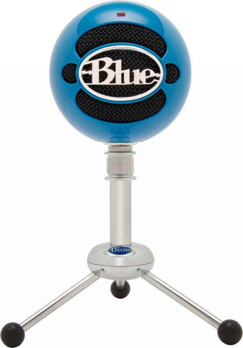 Blue Snowball Mikrofon - Neonblå