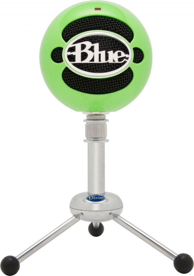 Blue Snowball Mikrofon - Grøn