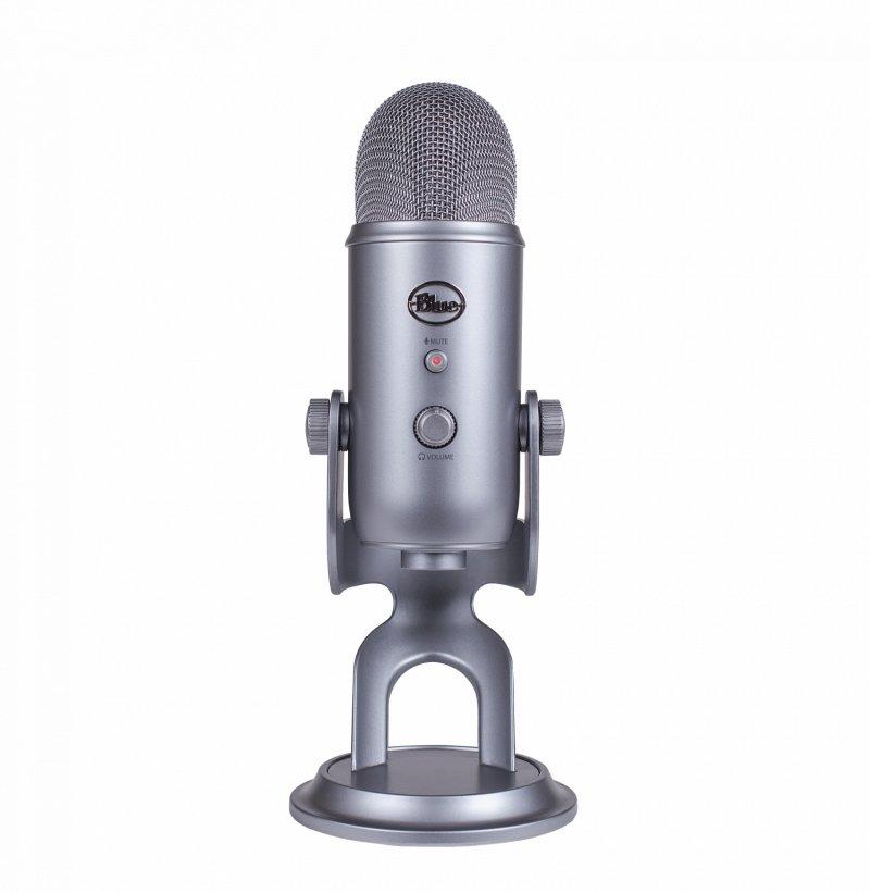Blue Yeti Mikrofon - Grå