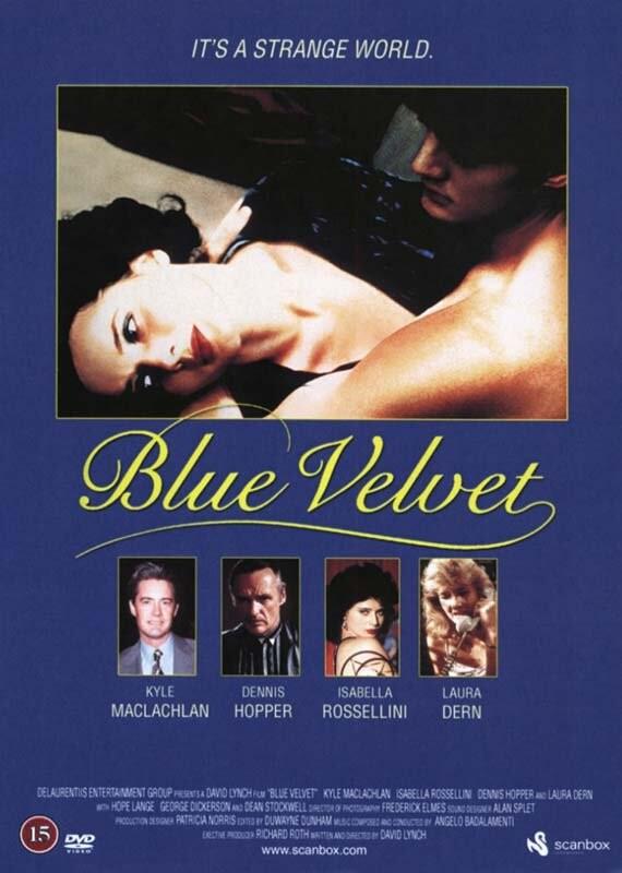 Image of   Blue Velvet - DVD - Film
