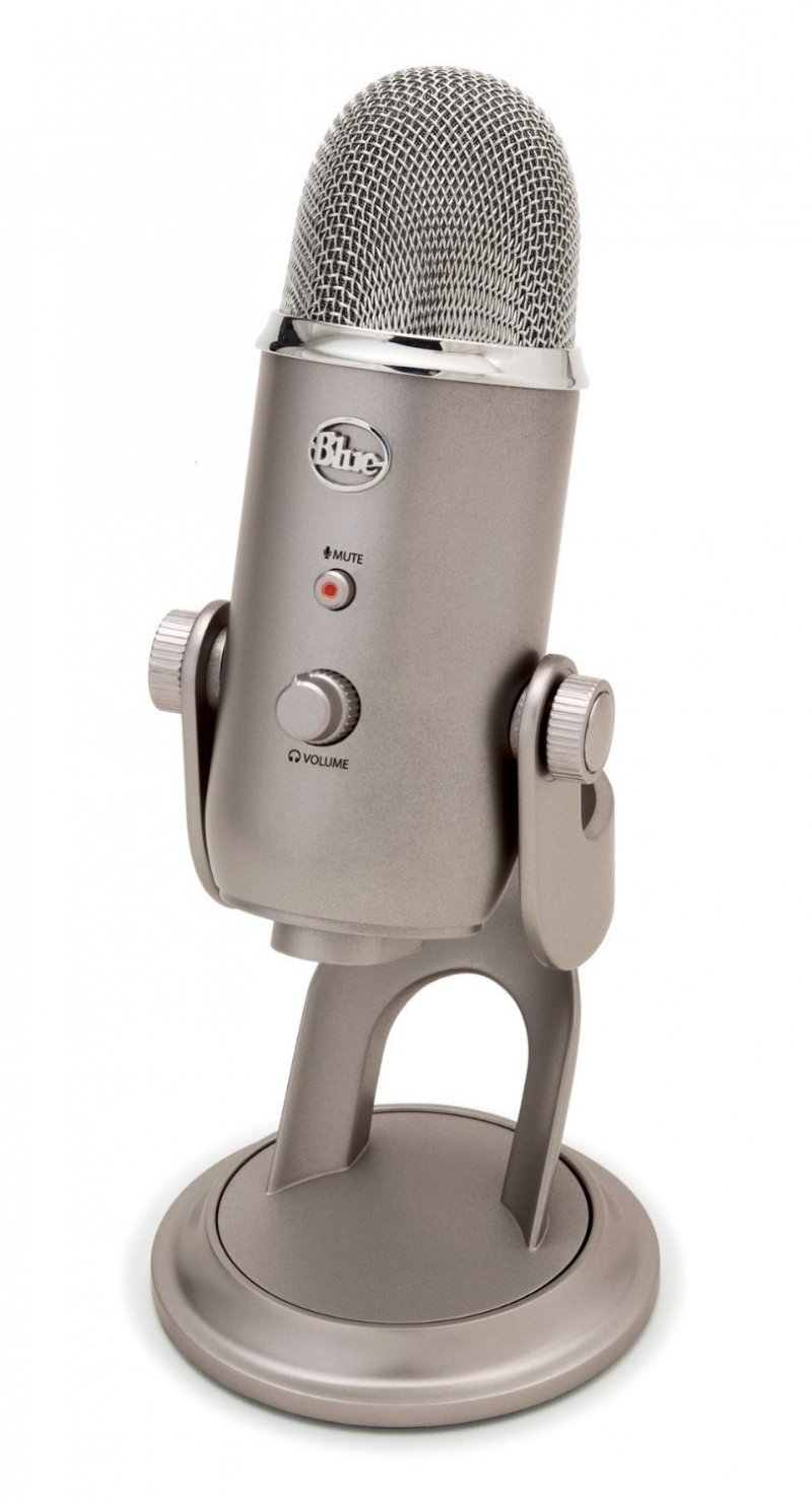 Blue Yeti Mikrofon - Platinum