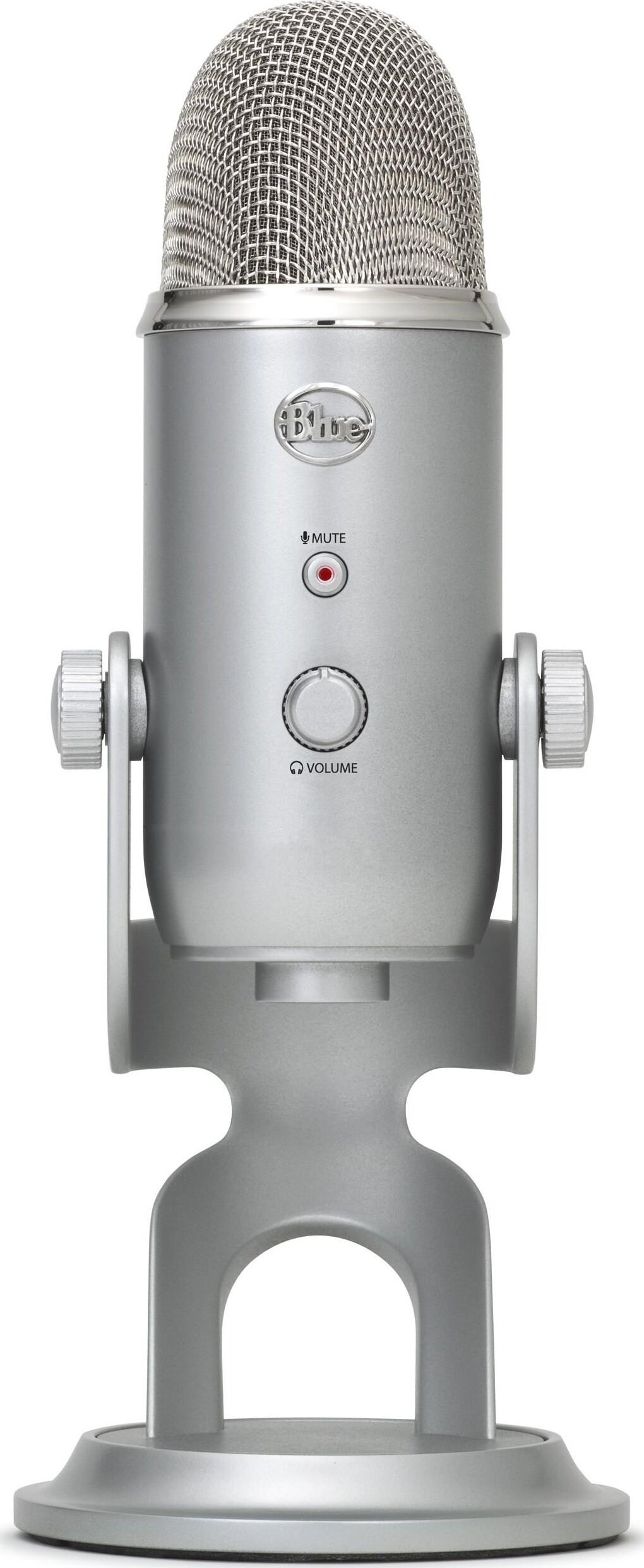 Blue Yeti Mikrofon - Sølv