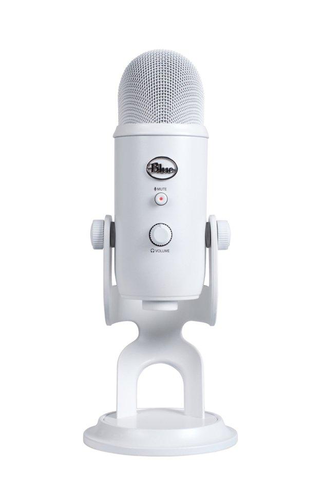 Blue Yeti Mikrofon - Hvid