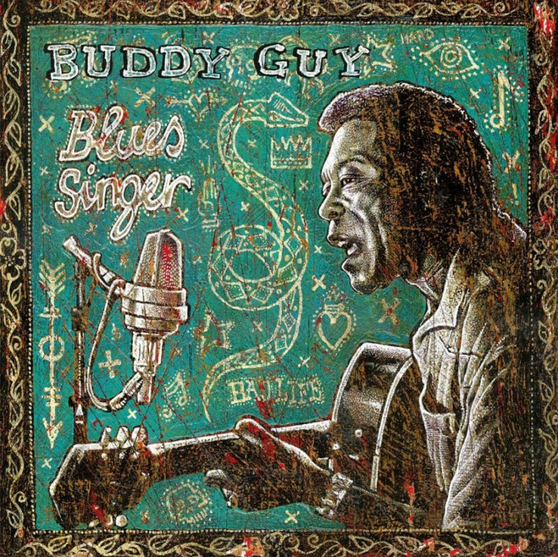 Image of   Buddy Guy - Blues Singer - Vinyl / LP