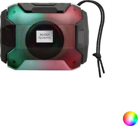 Bluetooth Højtaler – Mars Gaming Mxbax – Sort – 10w Rgb