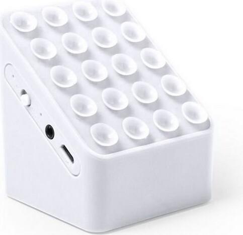 Image of   Bluetooth Højtaler Med Mobilholder 3w - Hvid