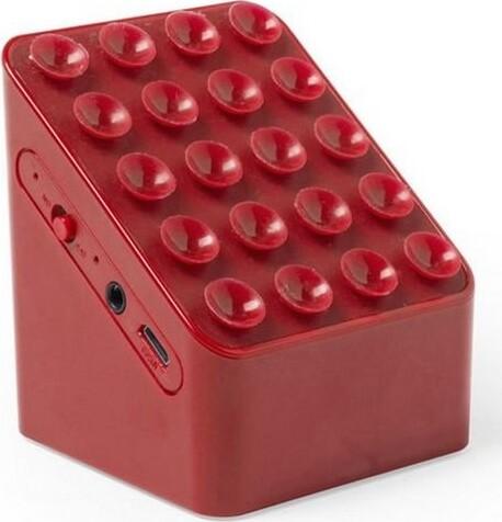 Image of   Bluetooth Højtaler Med Mobilholder 3w - Rød