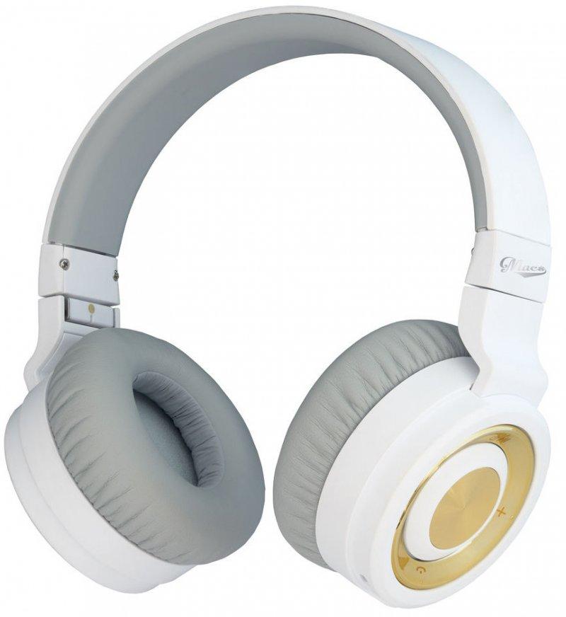 Macs Md15 Bluetooth Headset - Hvid