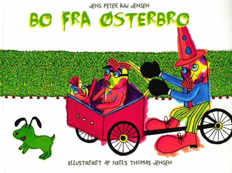 Image of   Bo Fra østerbro - Jens Peter Kaj Jensen - Bog