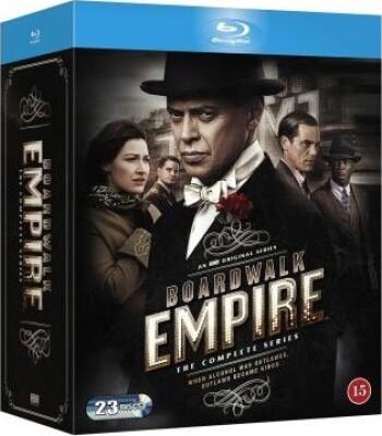 Image of   Boardwalk Empire - Den Komplette Serie - Sæson 1-5 - Hbo - Blu-Ray - Tv-serie