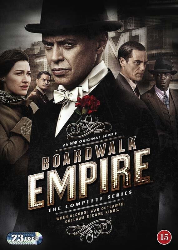 Image of   Boardwalk Empire - Den Komplette Serie - Hbo - DVD - Tv-serie
