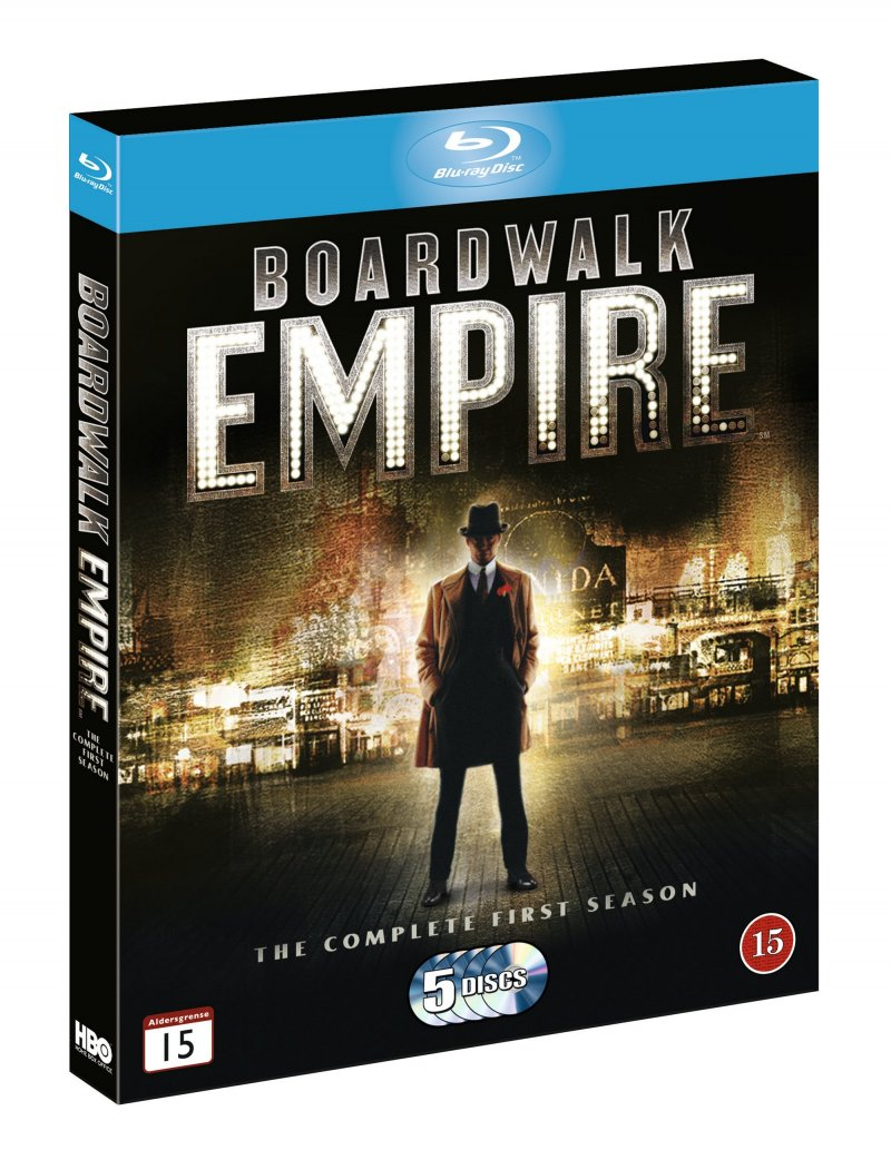 Image of   Boardwalk Empire - Sæson 1 - Hbo - Blu-Ray - Tv-serie