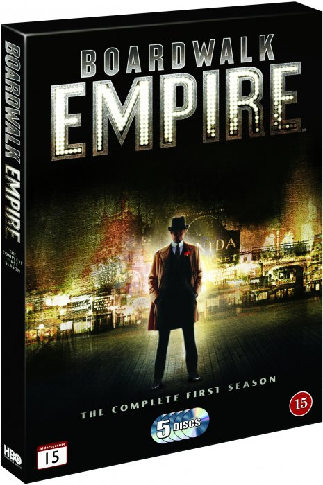 Image of   Boardwalk Empire - Sæson 1 - Hbo - DVD - Tv-serie