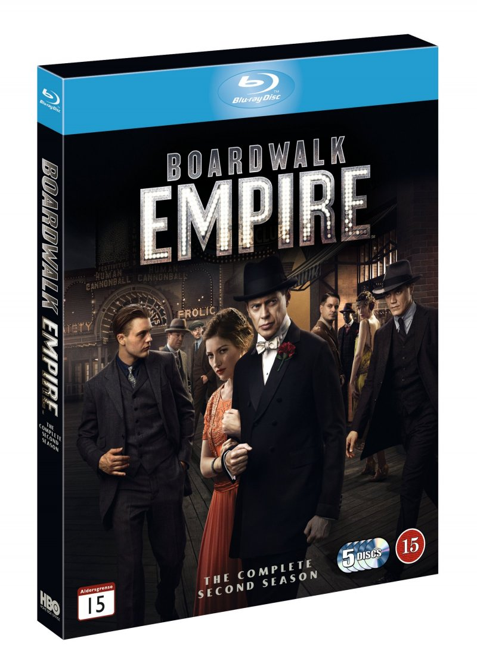 Boardwalk Empire - Sæson 2 - Hbo - Blu-Ray - Tv-serie