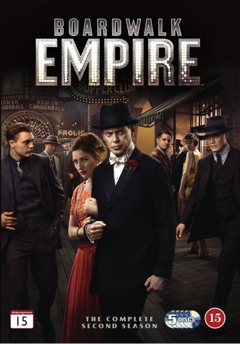 Image of   Boardwalk Empire - Sæson 2 - Hbo - DVD - Tv-serie