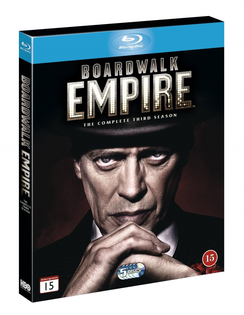 Image of   Boardwalk Empire - Sæson 3 - Hbo - Blu-Ray - Tv-serie