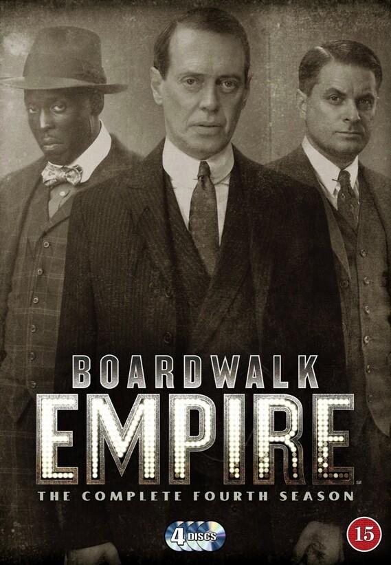 Image of   Boardwalk Empire - Sæson 4 - Hbo - DVD - Tv-serie