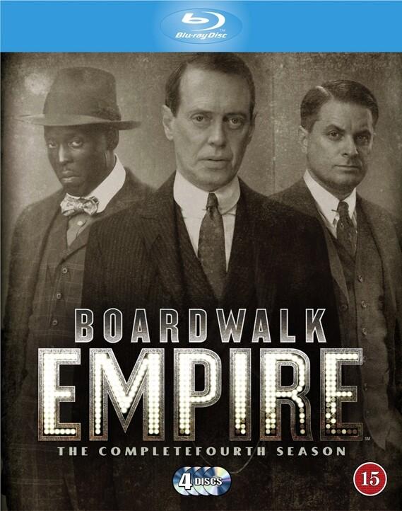 Boardwalk Empire - Sæson 4 - Hbo - Blu-Ray - Tv-serie