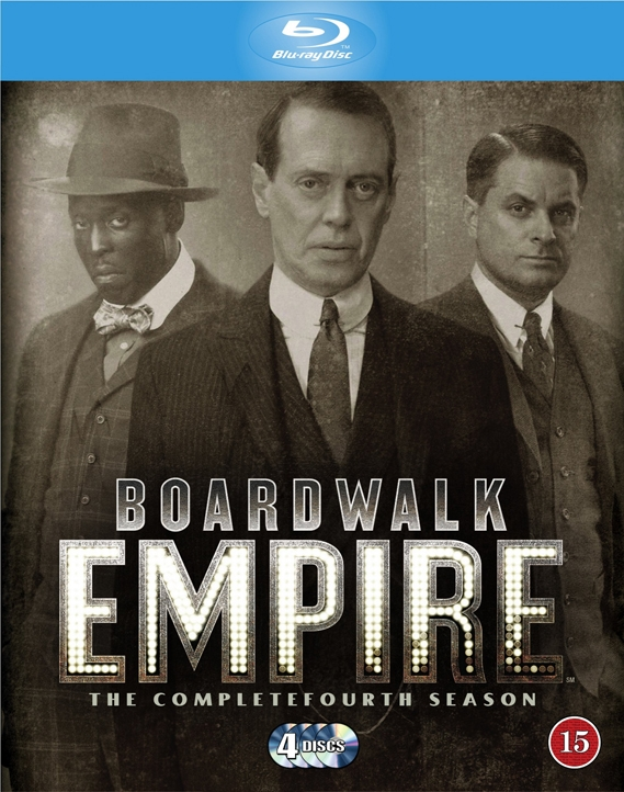 Image of   Boardwalk Empire - Sæson 4 - Hbo - Blu-Ray - Tv-serie