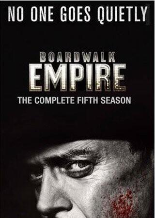 Image of   Boardwalk Empire - Sæson 5 - Hbo - DVD - Tv-serie