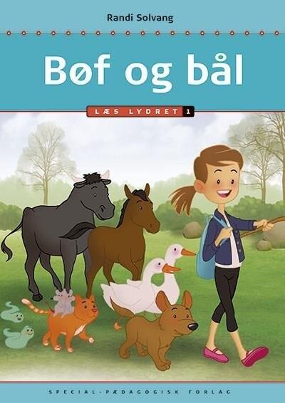 Billede af Bøf Og Bål - Læs Lydret 1 - Randi Solvang - Bog