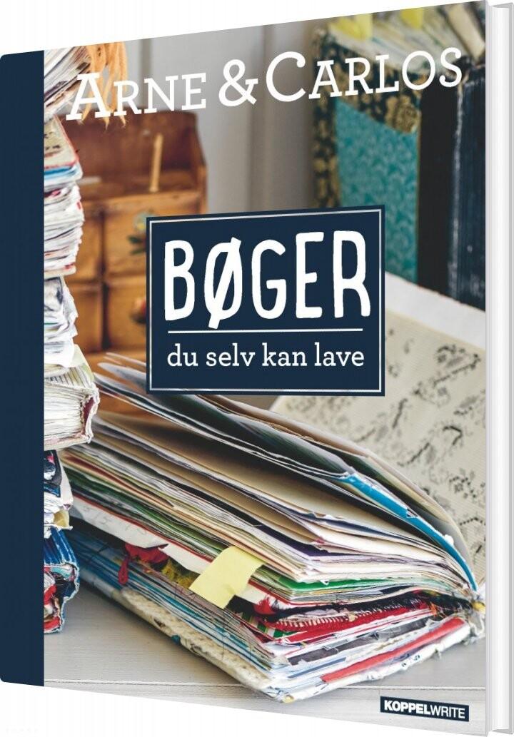 Image of   Bøger Du Selv Kan Lave - Arne & Carlos - Bog