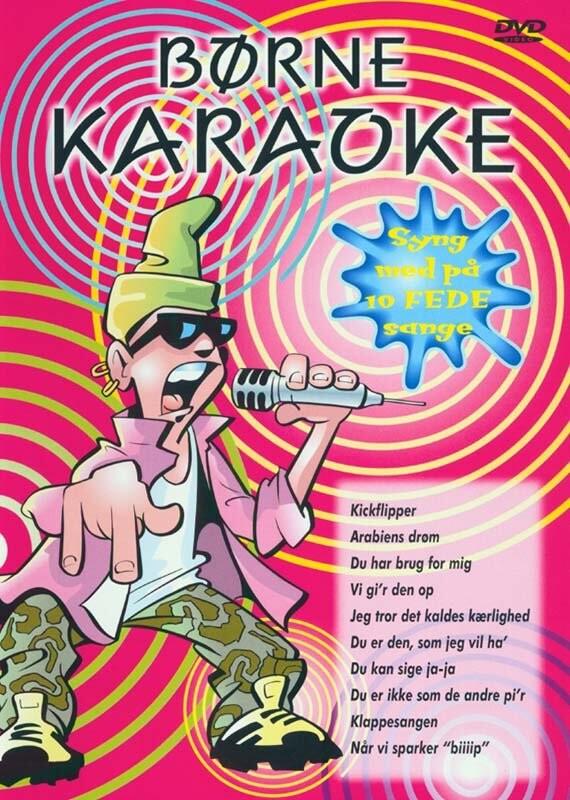 Image of   Børne Karaoke - DVD - Film