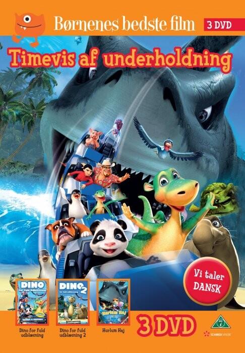 Billede af Hurlum Haj // Dino For Fuld Udblæsning // Dino For Fuld Udblæsning 2 - DVD - Film