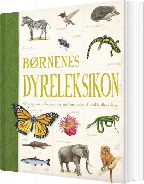 Image of   Børnenes Dyreleksikon - Diverse - Bog