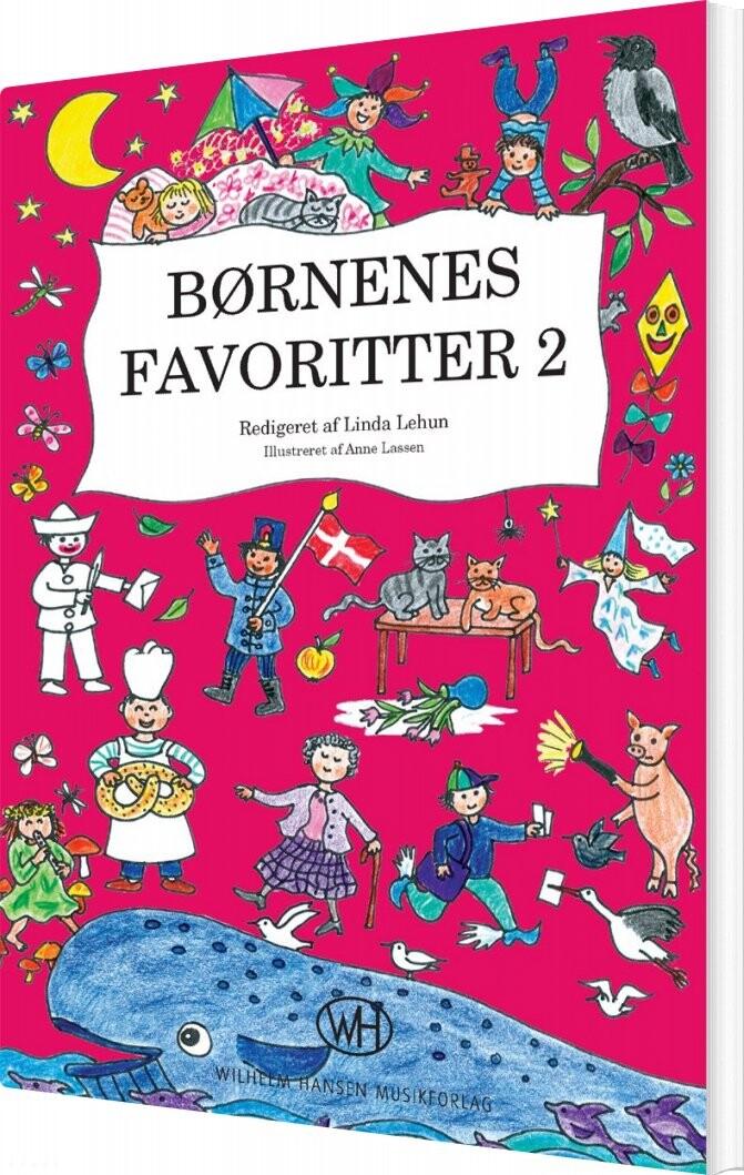 Image of   Børnenes Favoritter 2 - Linda Lehun - Bog