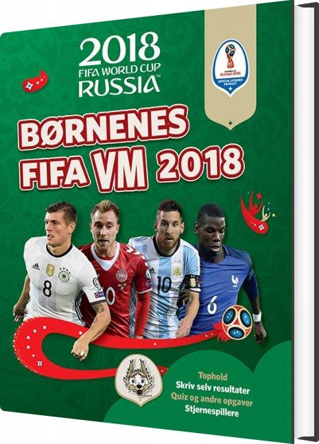 Image of   Børnenes Fifa Vm 2018 - Kevin Pettman - Bog