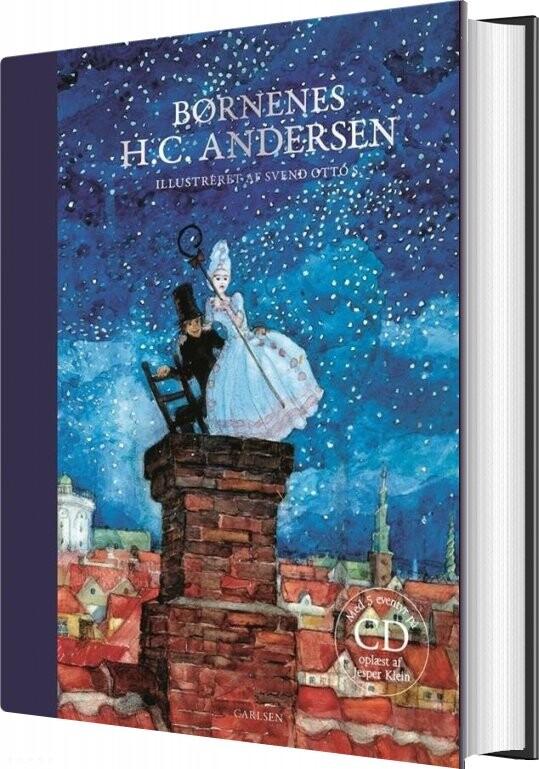 Image of   Børnenes H.c. Andersen (cd + Bog) - H.c. Andersen - Bog