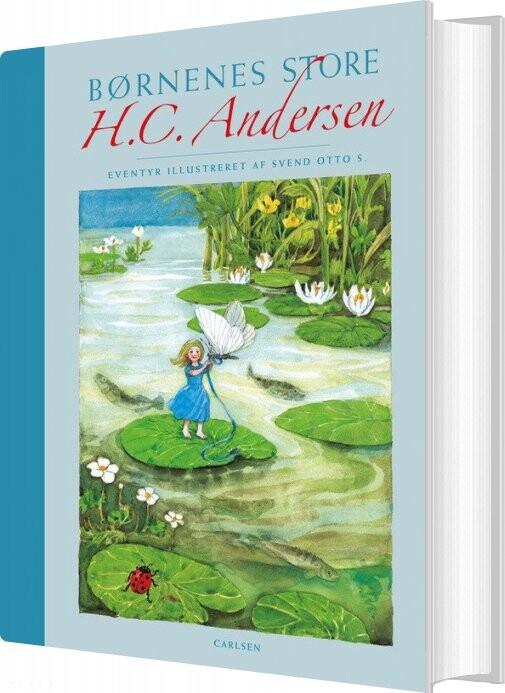 Image of   Børnenes Store H.c. Andersen M/lærredsryg - H.c. Andersen - Bog