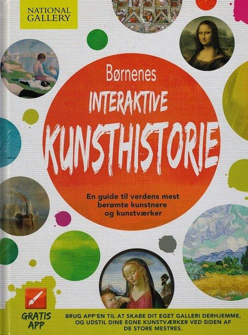 Image of   Børnenes Interaktive Kunsthistorie - Susan Hodge - Bog