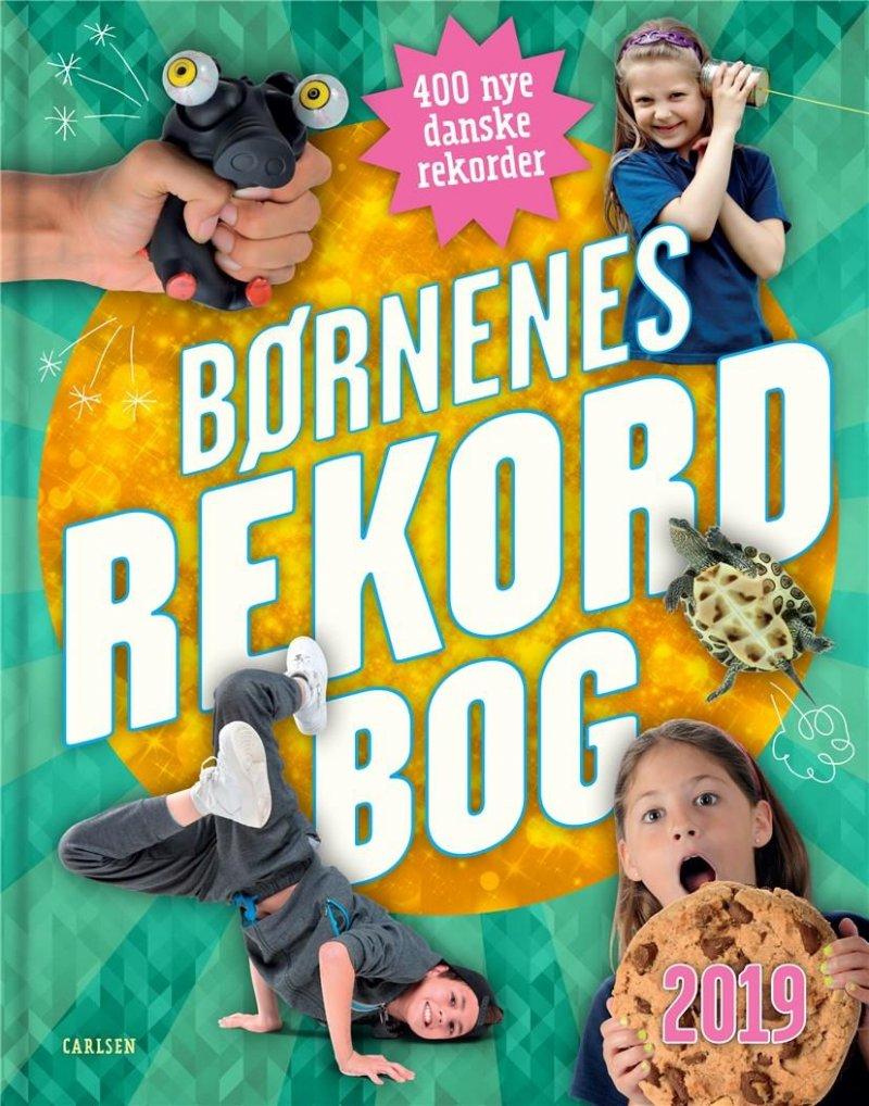 Børnenes Rekordbog 2019 - Mikael Brøgger - Bog
