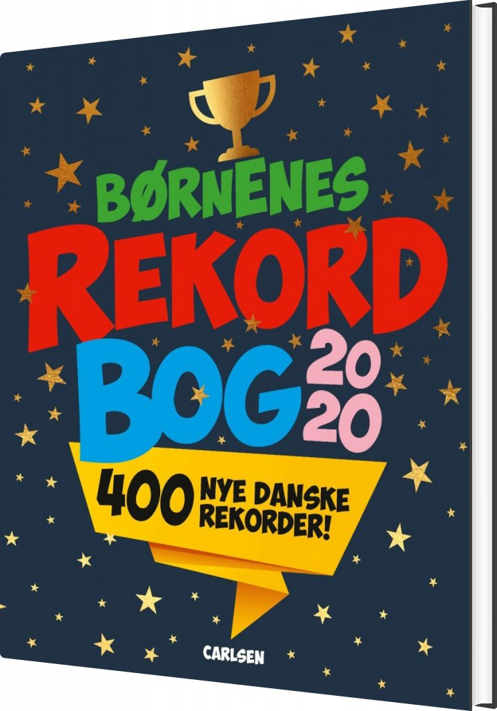 Image of   Børnenes Rekordbog 2020 - Mikael Brøgger - Bog