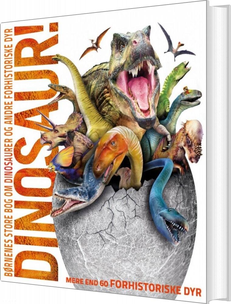Image of   Børnenes Store Bog Om Dinosaurer Og Andre Forhistoriske Dyr - John Woodward - Bog