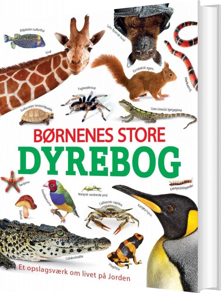Image of   Børnenes Store Dyrebog - Diverse - Bog