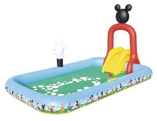 Ultramoderne Mickeys Klubhus Badebassin / Børnepool Med Vandsprøjte → Køb EI-14