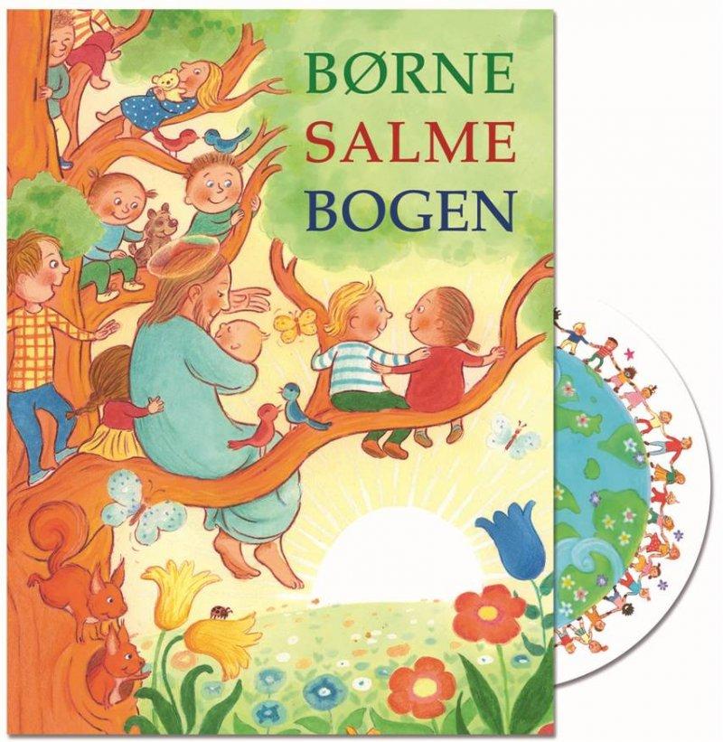 Børnesalmebogen Med Cd - Diverse - Bog