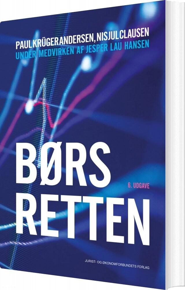 Image of   Børsretten - Paul Krüger Andersen - Bog