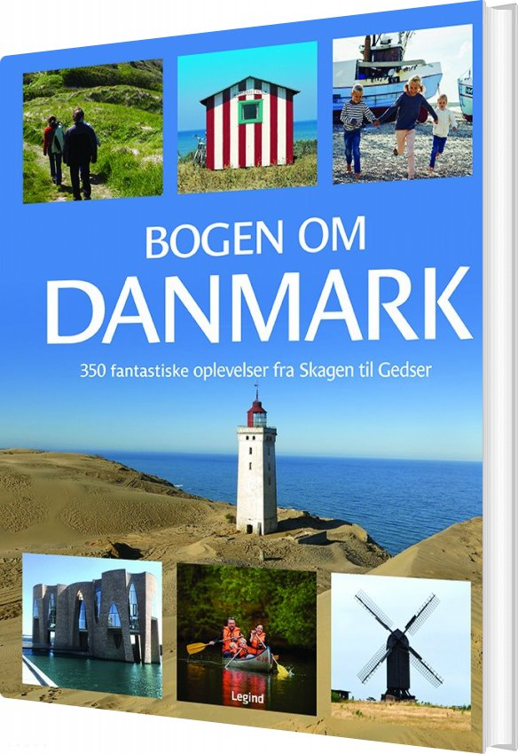 Image of   Bogen Om Danmark - Jørgen Hansen - Bog