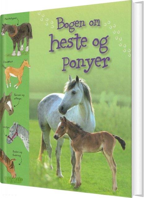 Image of   Bogen Om Heste Og Ponyer - Sarah Kahn - Bog