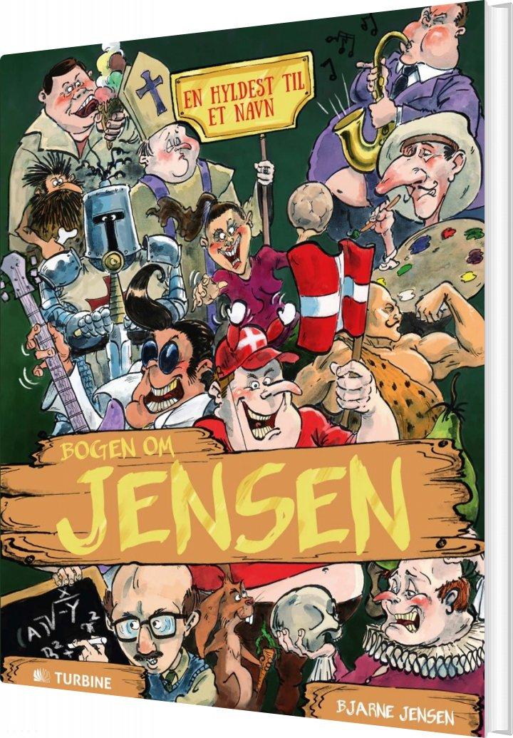 Image of   Bogen Om Jensen - Bjarne Jensen - Bog