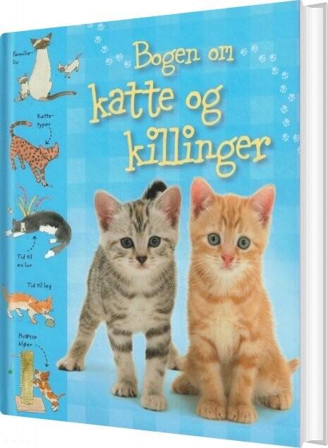 Image of   Bogen Om Katte Og Killinger - Sarah Khan - Bog