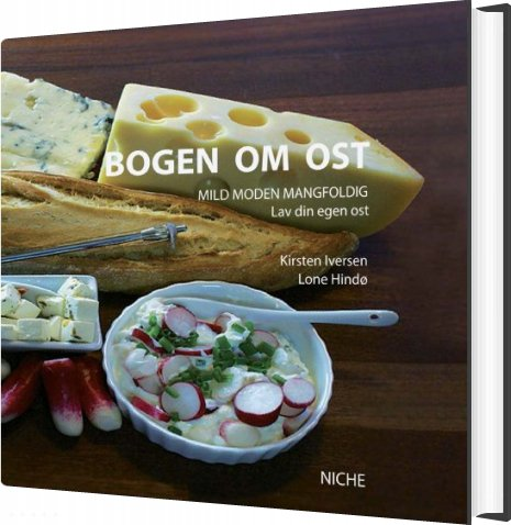Image of   Bogen Om Ost - Lone Hindø - Bog