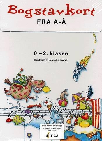 Image of   Bogstavkort Fra A-å - Jeanette Brandt - Bog