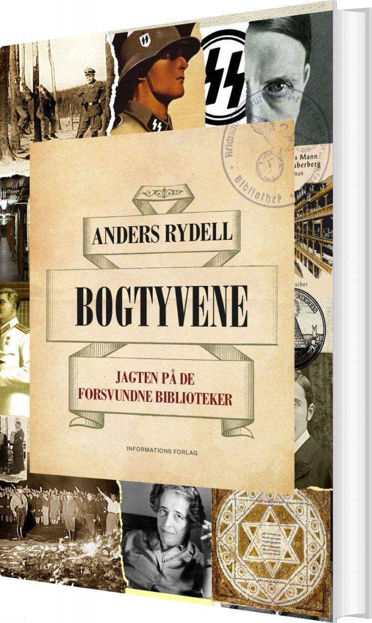 Image of   Bogtyvene - Anders Rydell - Bog