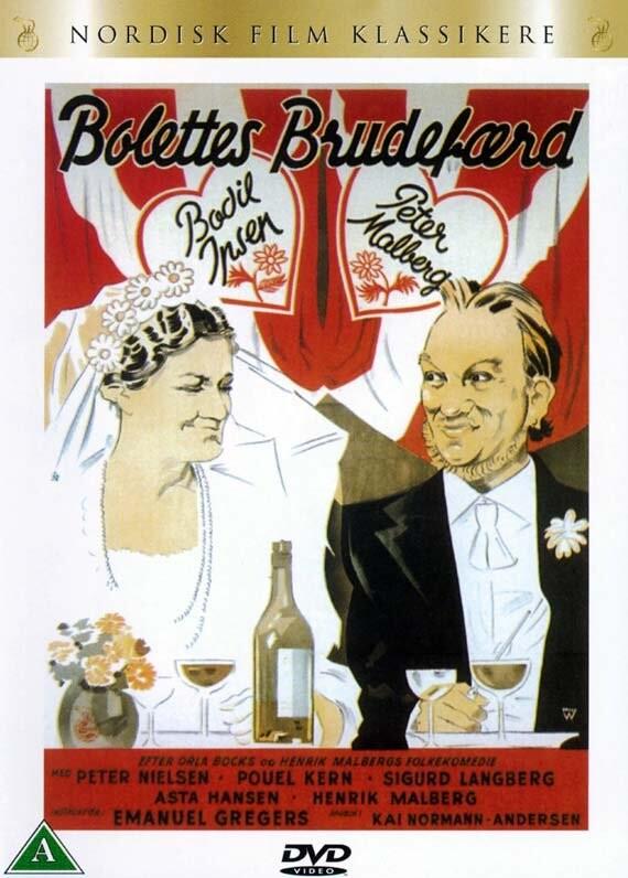 Image of   Bolettes Brudefærd - DVD - Film