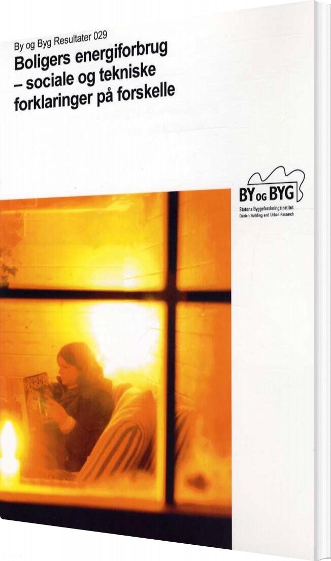 Boligers Energiforbrug - Kirsten Gram-hanssen - Bog